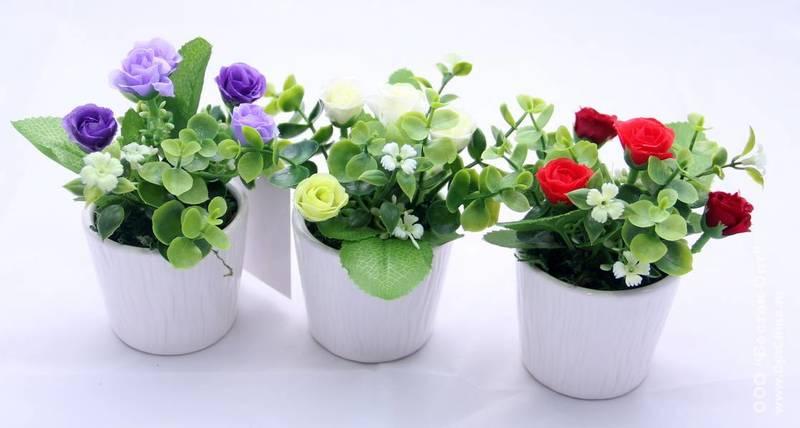 К чему снятся разноцветные цветы в горшках
