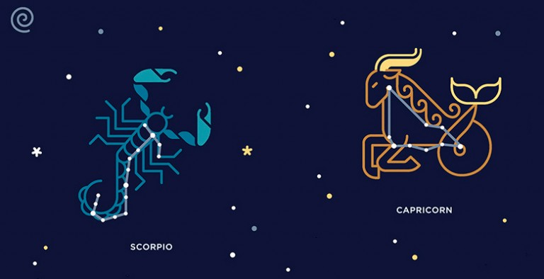 Скорпиону и козерогу всегда найдется, о чем поговорить, пусть даже до споров с пеной у рта, они осознают комфорт совместного времяпровождения, в жизни обычно имеют общие цели и задачи.