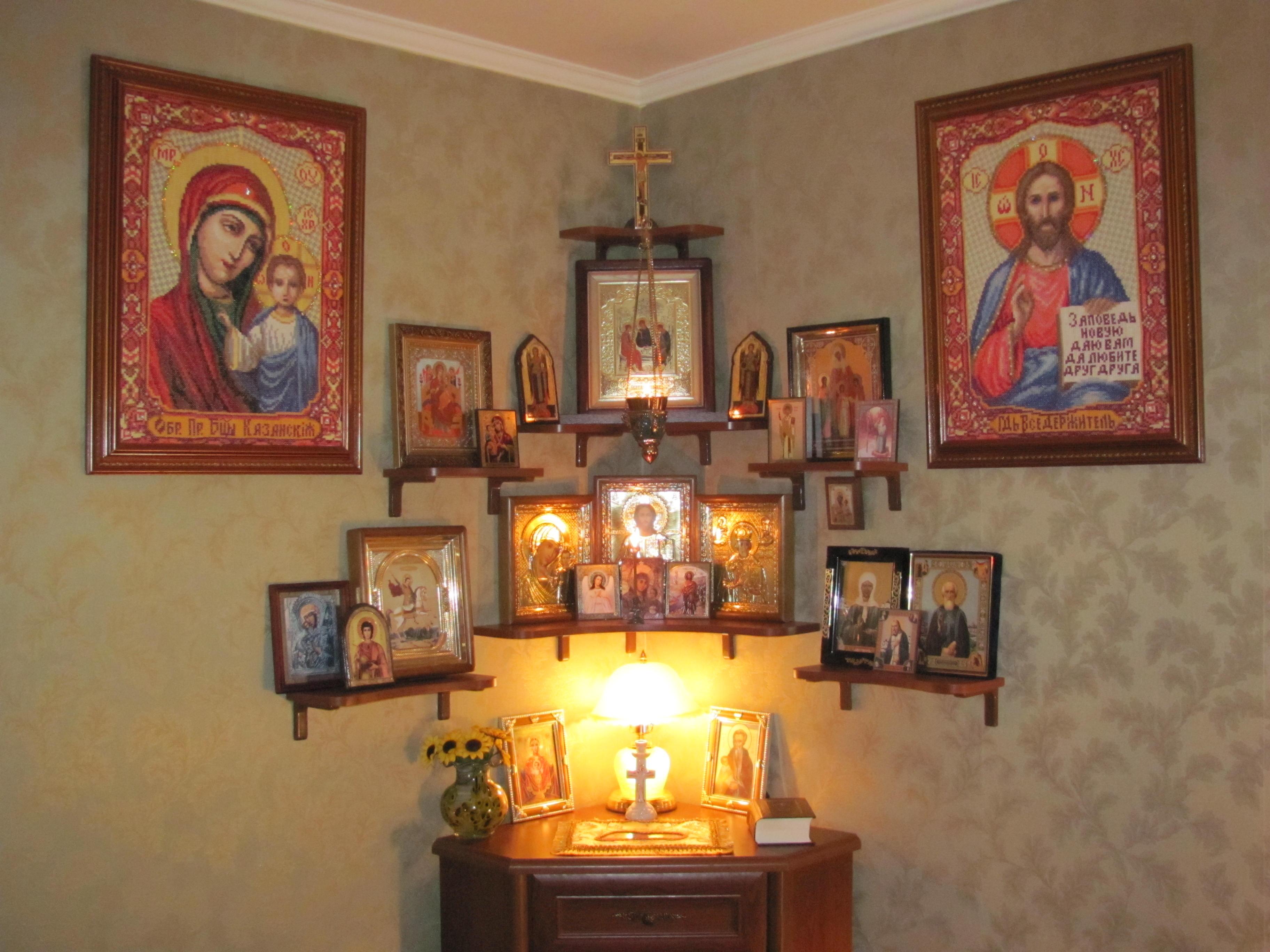 Как сделать иконостас дома фото фото 177