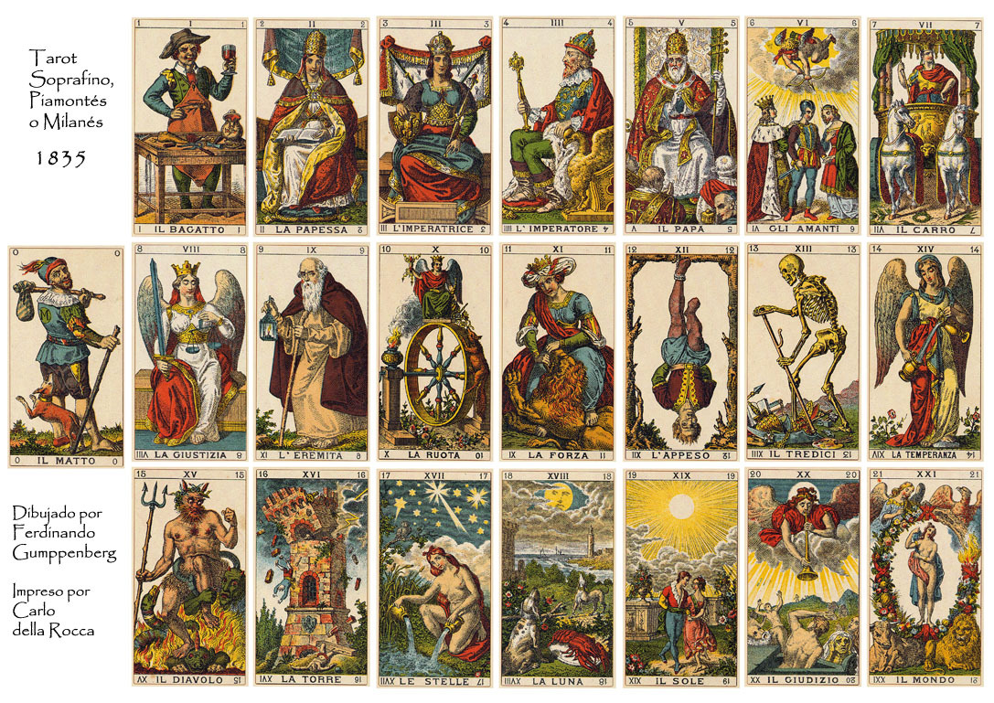 Значение карты Романтического таро – семерка пентаклей