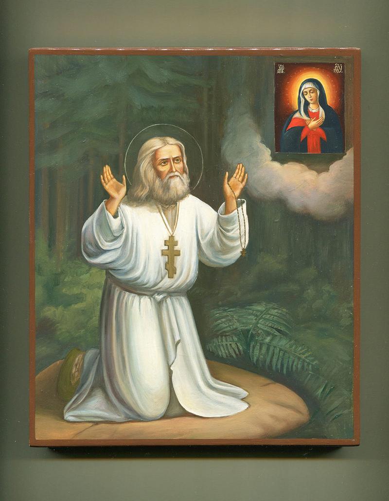 Серафим Саровский молитва об исцелении