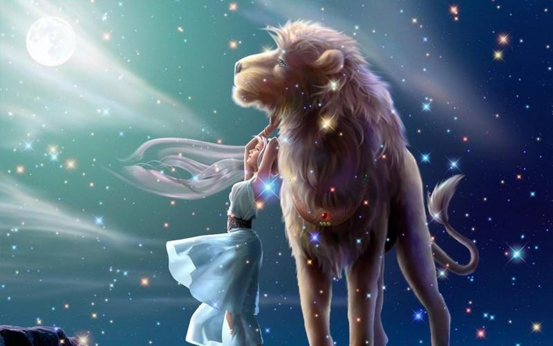 Близнецы ослеплены яркостью льва, его щедростью, разнообразием и богатством натуры.