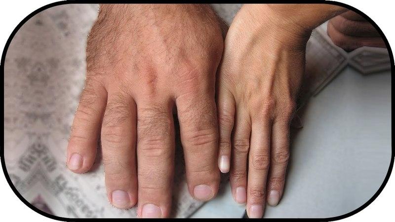 Определение темперамента по пальцам